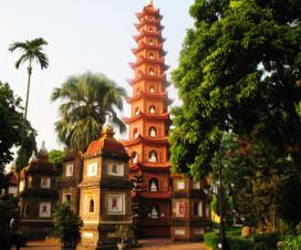 Tran Quoc Pagoda in Hanoi - Hanoi cultural city tours