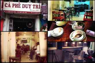 Cafe Duy Tri - Things to do in Hanoi