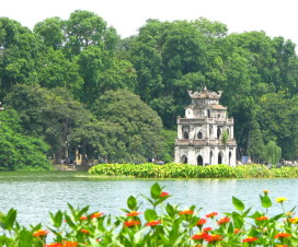 Hoan Kiem Lake Hanoi liberation day - Travel to Hanoi