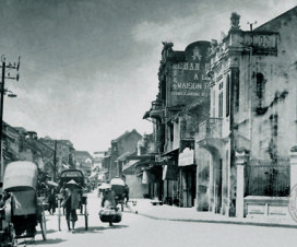 Hang Bac street Hanoi 100 years ago - Travel to Hanoi