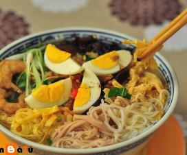 Bun Thang Hanoi cuisine - Hanoi food tour