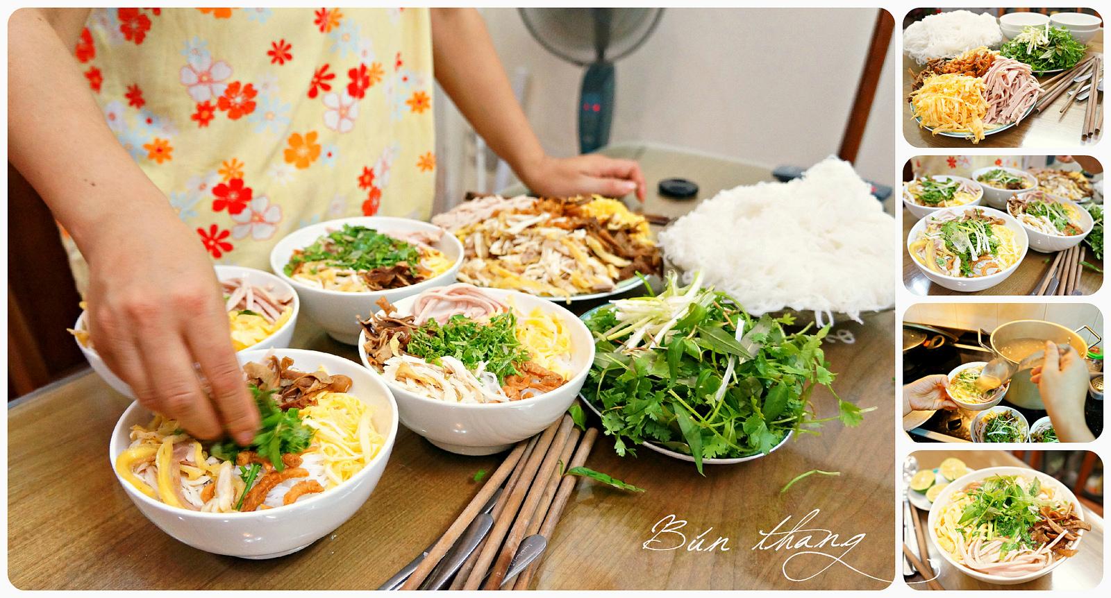 How to make Bun Thang - Hanoi cuisine tour