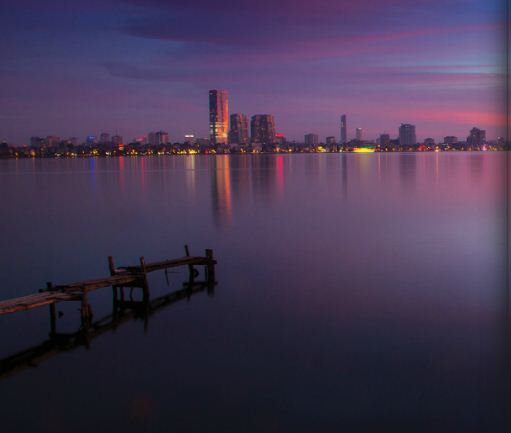 EH-West-lake-at-Sunset-Hanoi-city-tour-2