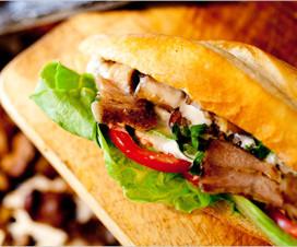Banh Mi doner kebap - Hanoi street food Vietnam cuisine