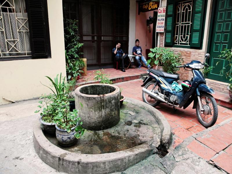 Wells in Hanoi Old Quarter - travel to Hanoi