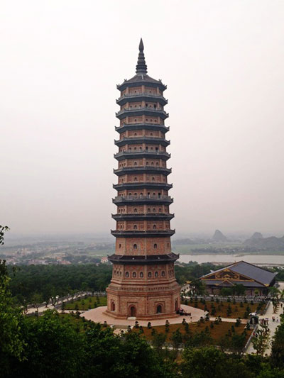 Bodhi temple at Bai Dinh Pagoda - Day trip from hanoi