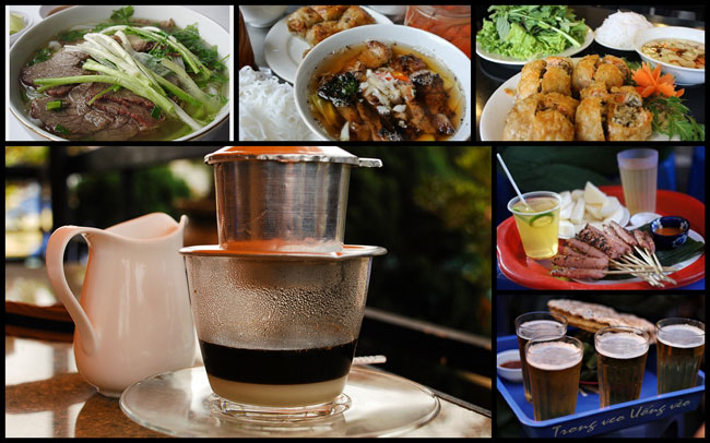 Some popular street foods in Hanoi - Things to do and eat in Hanoi