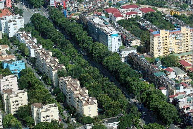 Flycams green Hanoi in Kim Ma Road - Travel to Hanoi