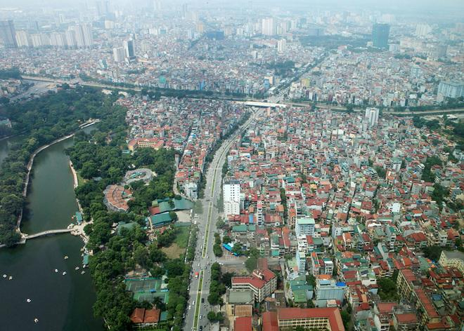 Flycams green Hanoi at Thu Le Zoo - Travel to Hanoi