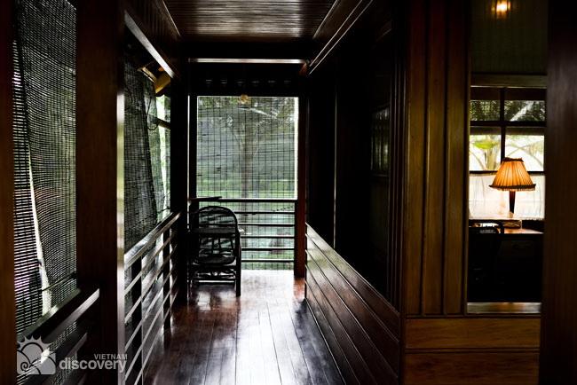 Inside Uncle Ho's stilt house - Hanoi tour in half a day