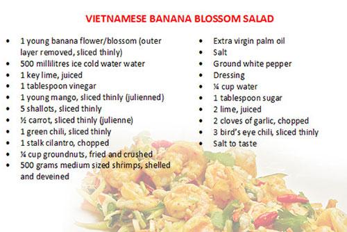 Nom Hoa Chuoi - Hanoi cooking class tour half-day