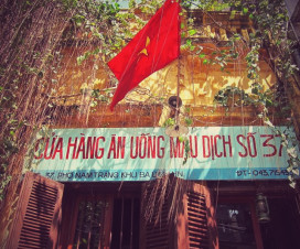 Mau Dich Restaurant at No.37 Nam Trang - Hanoi city tour in half-day