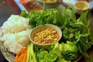 One of popular dishes at Mau Dich Restaurant - Hanoi tour half-day