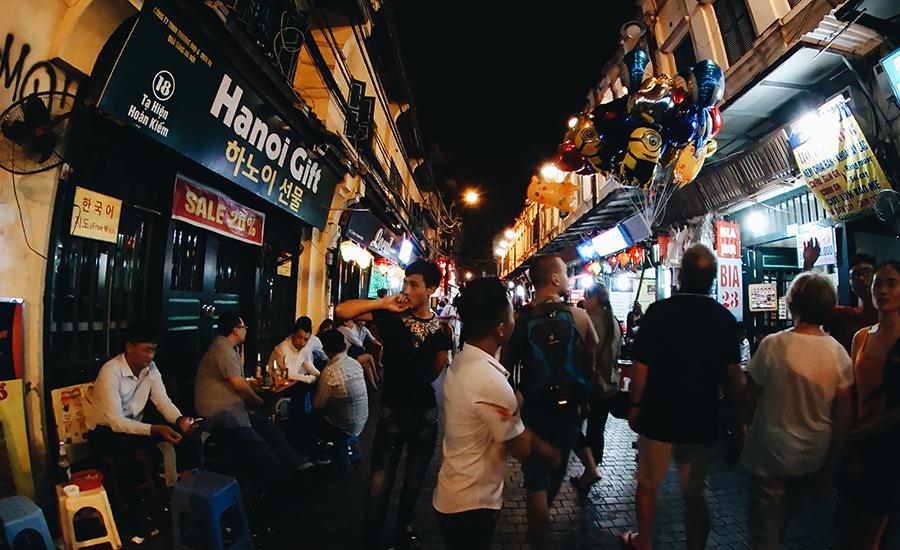 Hanoi nightlife Vietnam visa