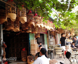 Bird market - Hanoi village tours