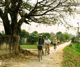 Cycling in Tho Ha Ecotourism Area in Ninh Binh - short trips from Hanoi