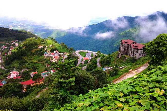 French architecture villa in Tam Dao Town - Short trip from Hanoi