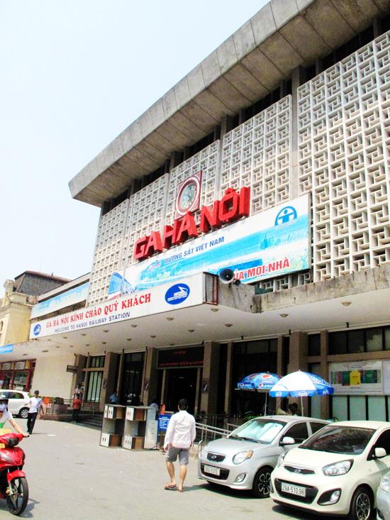 Gate of Hanoi train station