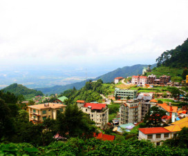 Overview of Tam Dao Town - Short trip from Hanoi