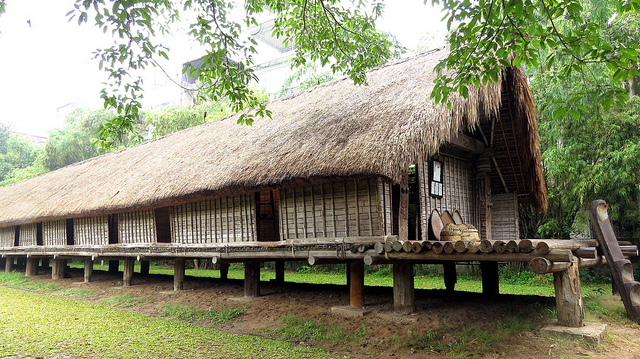 Ede long house - Vietnam Museum of Ethnology - Hanoi museum tours