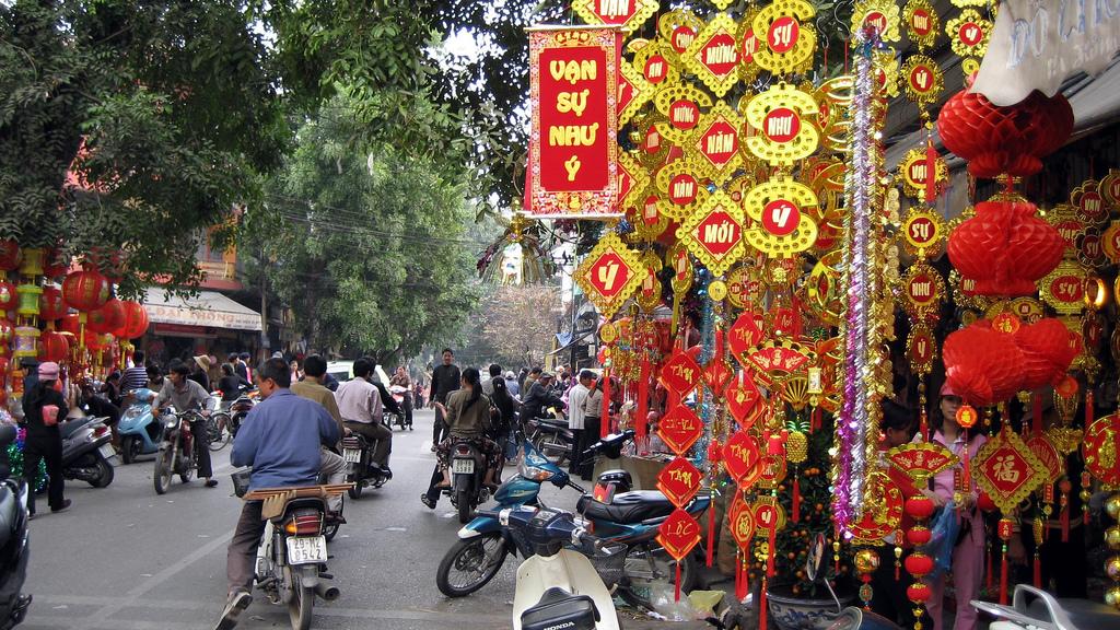 Hang Ma Street - Hanoi Old Quarter tours