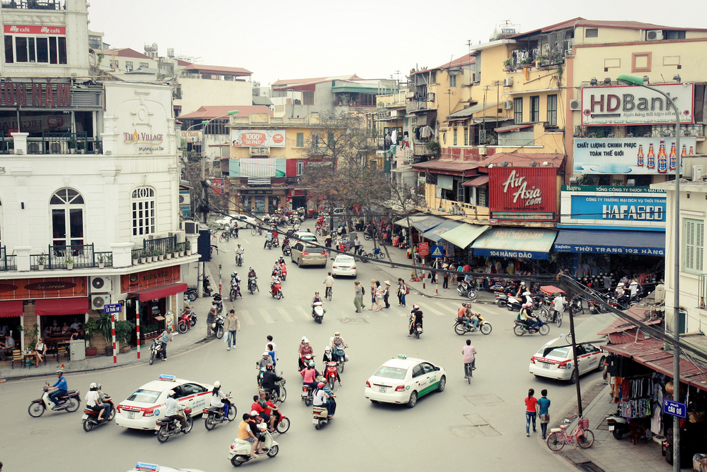 Hanoi Old Quarter with 36 ancient streets - Hanoi city tour