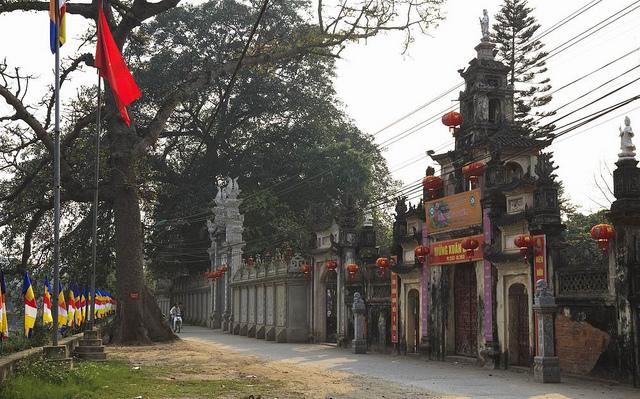 Ancient Communal House in Cu Da Village in Hanoi