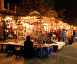 Walking streets in Hanoi - hanoi attractions