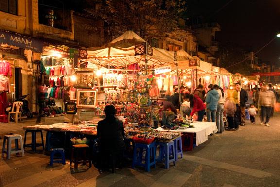 Walking streets in Hanoi - hanoi attractions