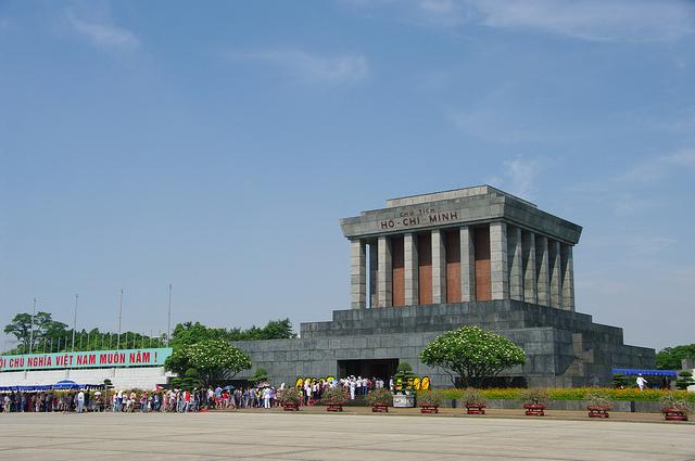 Ho Chi Minh Mausoleum in Hanoi - hanoi city tours