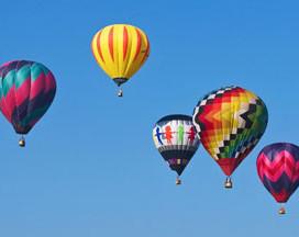 International air hot ballon in north Vietnam