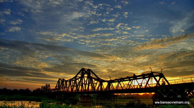 Long Bien Bridge - Hanoi attractions