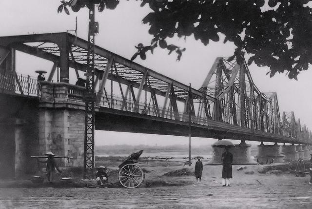 Long Bien Bridge- one witness of Vietnam war