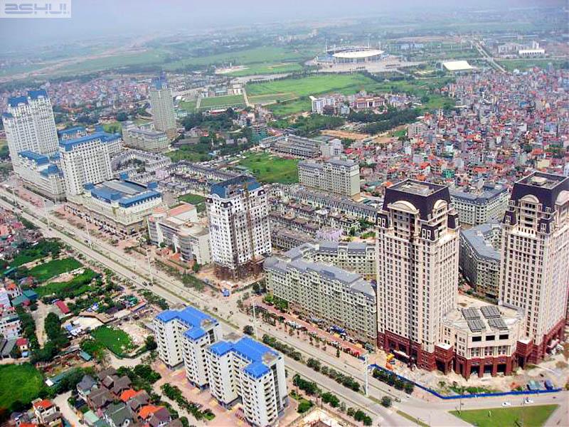 Song Da Urban area seen from Keangnam Hanoi Landmark Tower - Hanoi travel tips