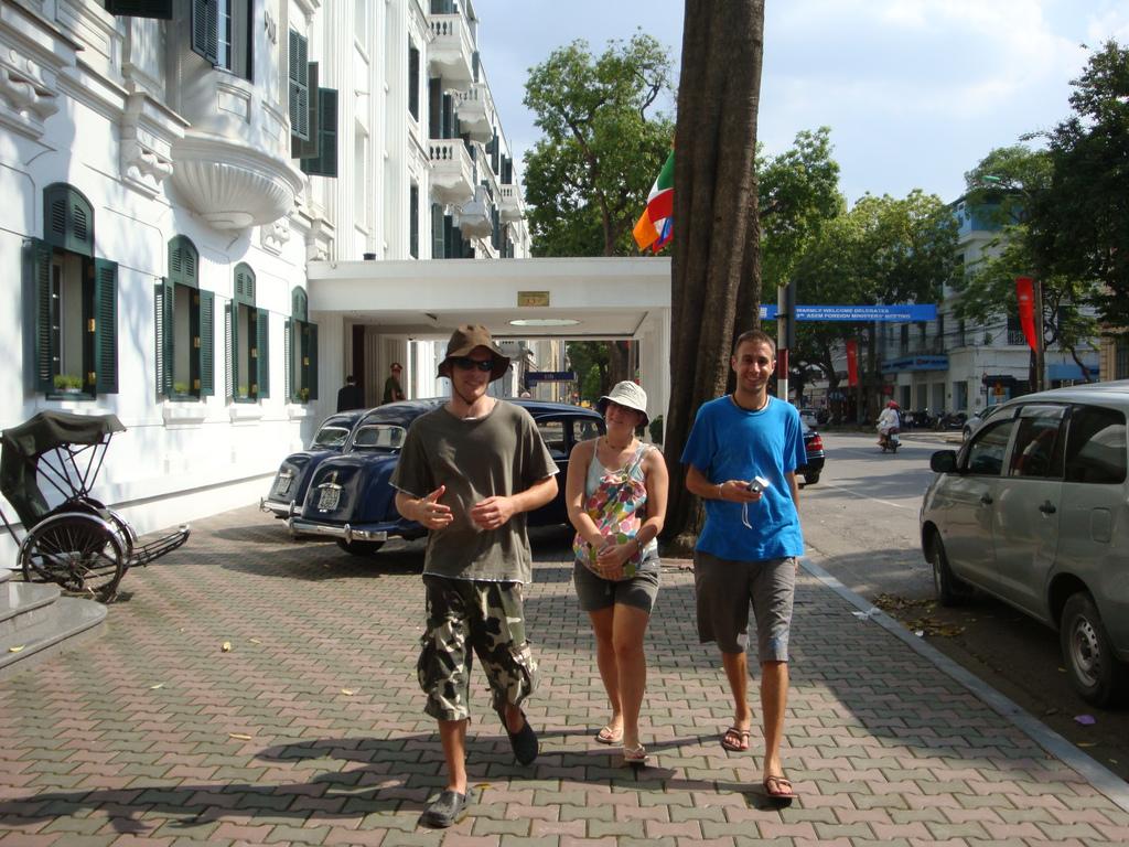 Walking in Hanoi Old Quarter - Hanoi city walking tours