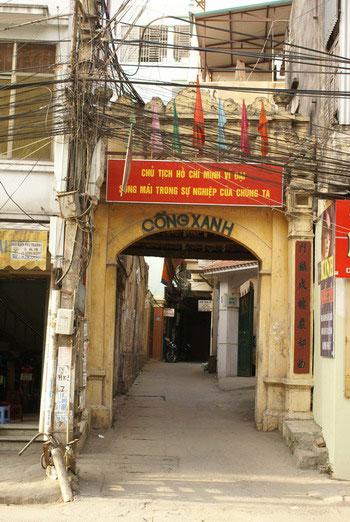 Xanh Gate - Hanoi village trips